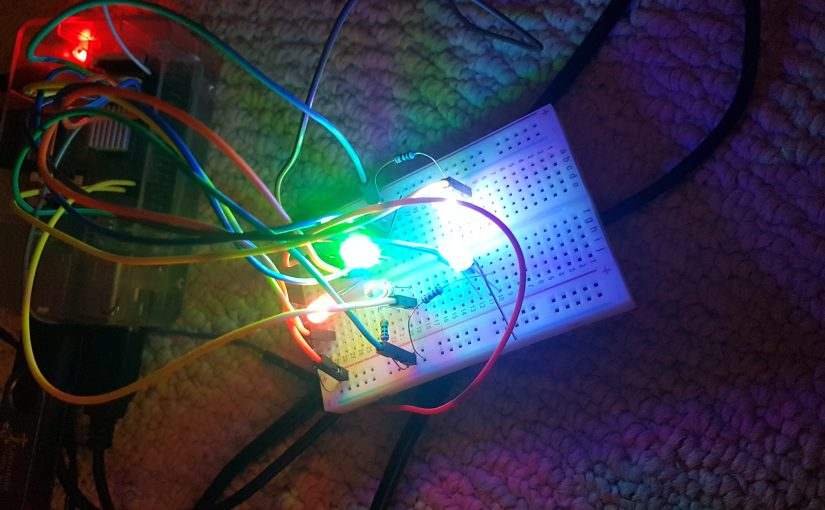 Raspberry Pi Controlled LED Map